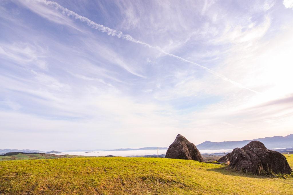押戸石の丘からの雲海