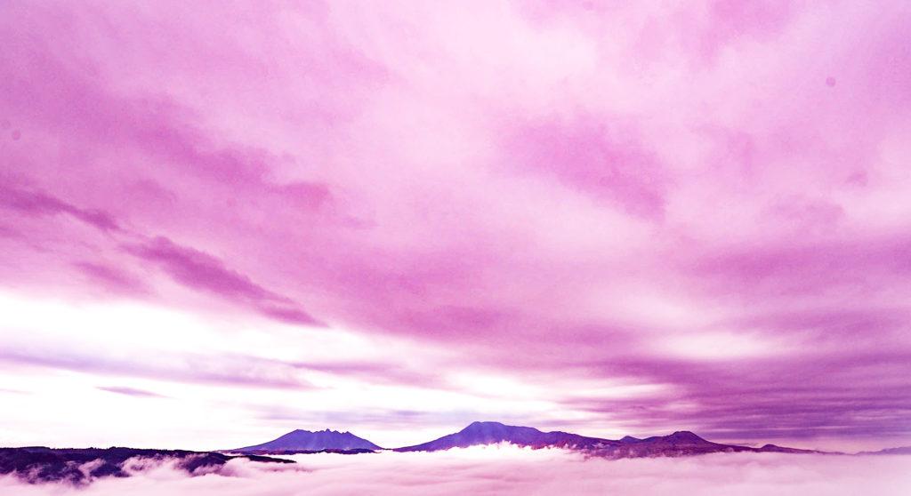 城山展望所からの雲海